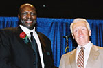 bruce smith with marv levy 2006