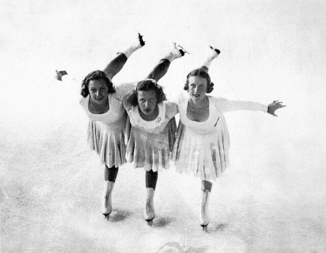 Louise, Estelle & Mary Weigel