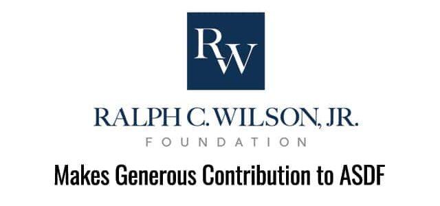 Wilson Foundation Makes Generous Contribution to ASDF